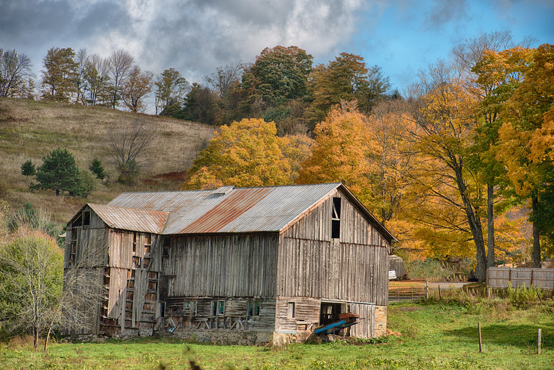 October 8 - Brookfield Barn