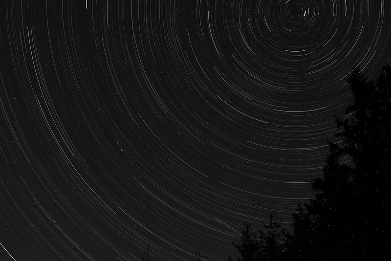 August 24 - Star Trails