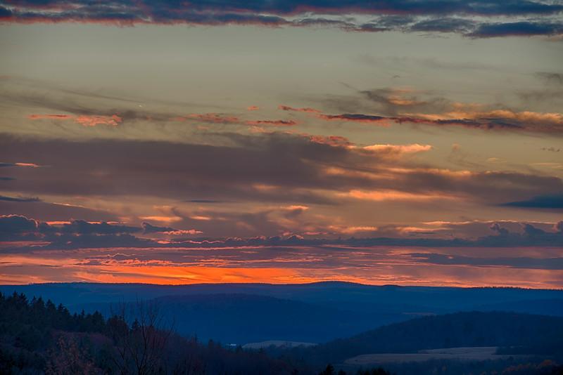 November 5 - Sunset tonight