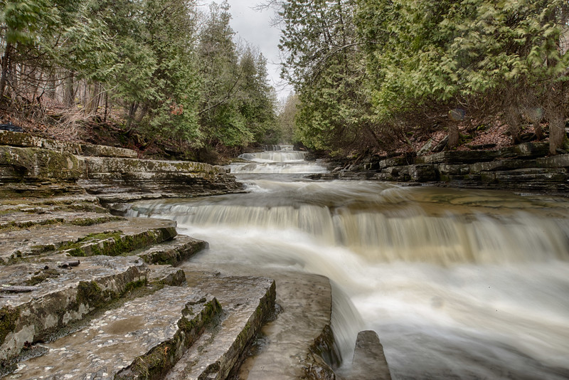 March 28 - Waterfall in Lewis County, NY
